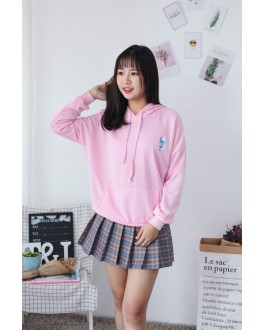 Korea Ice Cream Hoodie Top (Pink)