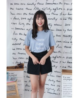Korea Private Time Tee (Blue)