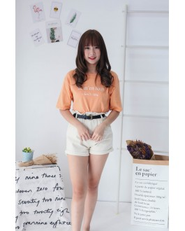 Korea Je M'en Rous Tee (Orange Brown)