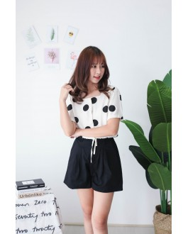 Korea Basic -5kg Rubber Short Pant (Black) - BACKORDER ETA 23 SEP
