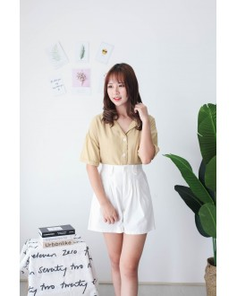 Korea Basic -5kg Rubber Short Pant (White)