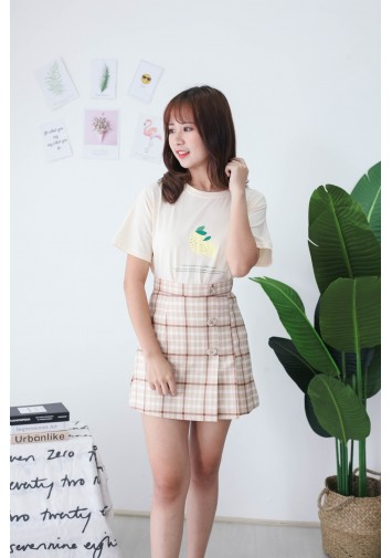 Korea Lemon Tee (Beige)