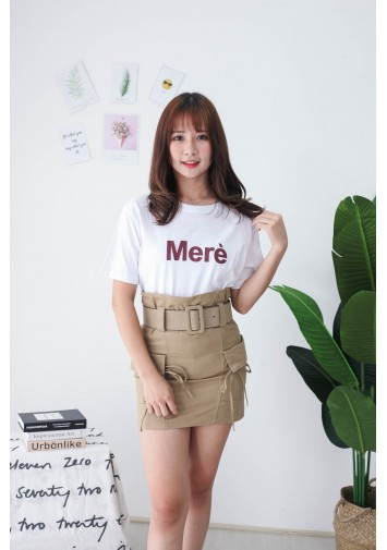 Korea Mere Tee (White) - BACKORDER ETA 23 SEP