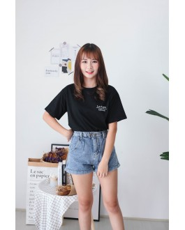 Korea Los Angele California Tee (Black)