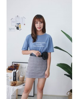 Korea Problem Tee (Blue)
