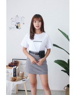 Korea Embriodery Andersson Tee (White)