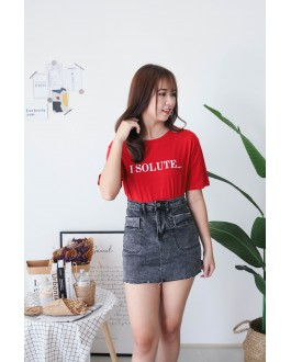Korea Isolute Tee (Red) - BACKORDER ETA 2 DEC