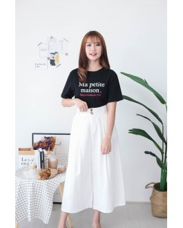 Korea Maison Tee (Black)